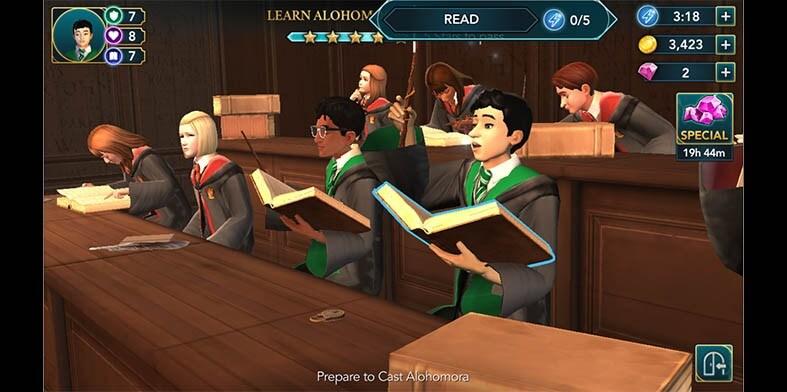 Harry Potter Alohomora