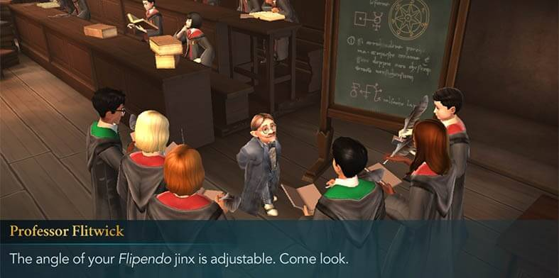 Harry Potter Hogwarts Mystery Flipendo