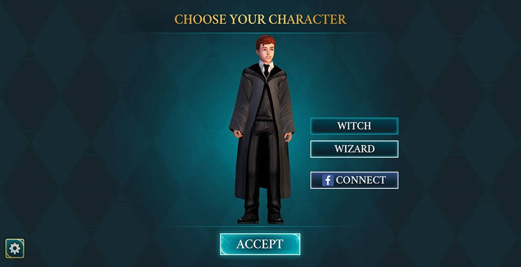 Chapter 1, Year 1 - Harry Potter Hogwarts Mystery Walkthrough