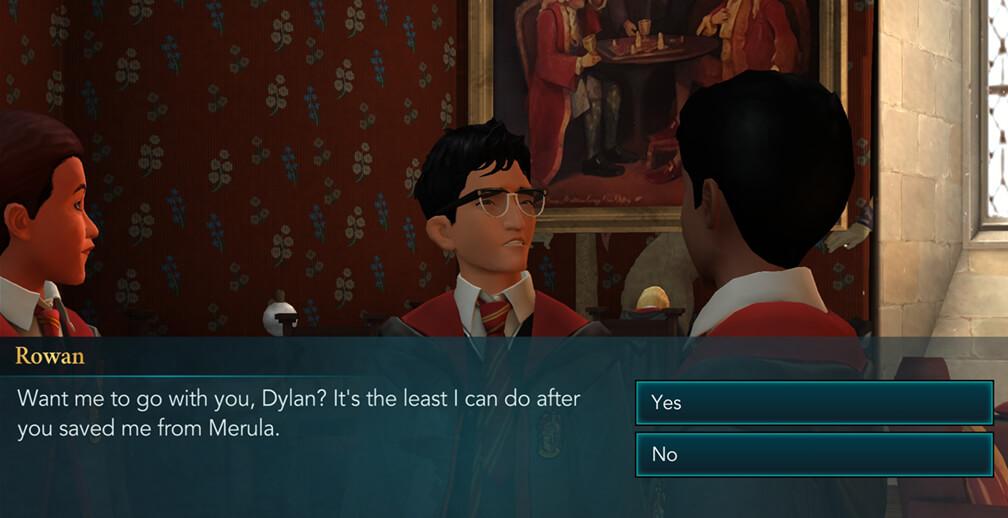 Chapter 3, Year 1 - Harry Potter Hogwarts Mystery Walkthrough
