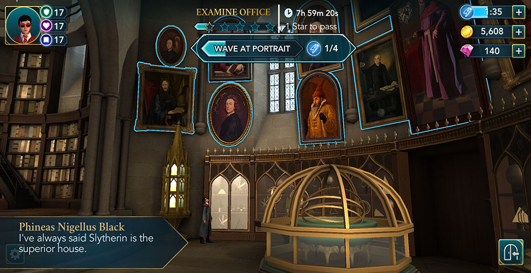 Harry Potter Hogwarts Mystery - Walkthrough