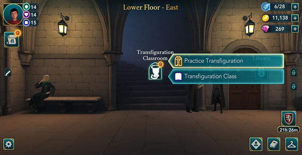 Harry Potter Hogwarts Mystery - Walkthrough
