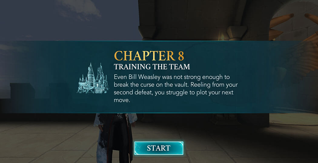 Chapter 8, Year 2 - Harry Potter Hogwarts Mystery Walkthrough