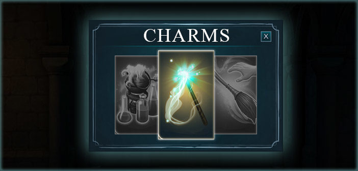 Charms Lessons Year 1 - Harry Potter Hogwarts Mystery