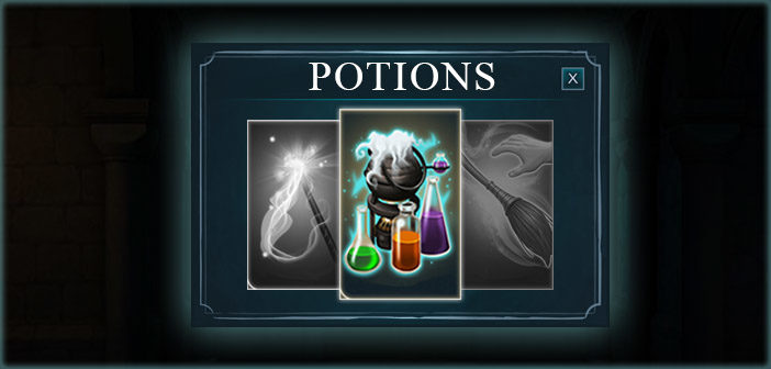 Potions Guides Year 1 - Harry Potter Hogwarts Mystery