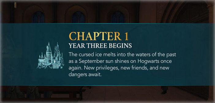 Chapter 1, Year 3 - Harry Potter Hogwarts Mystery Walkthrough
