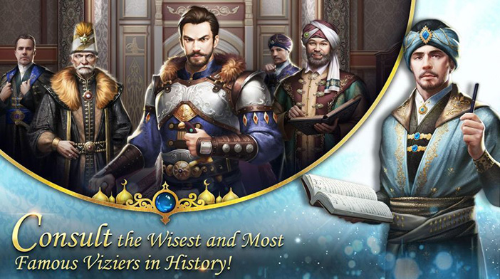 Game of Sultans - Consult Viziers
