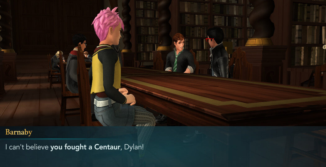 Hogwarts Mystery - Year 4 Chapter 7 - Studying Centaurs