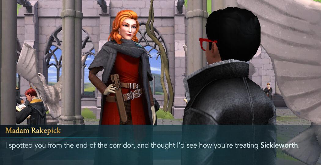Hogwarts Mystery - Year 4 Chapter 9 - Madam Rakepick