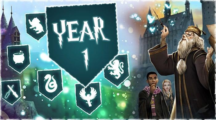 harry potter hogwarts mystery year 1