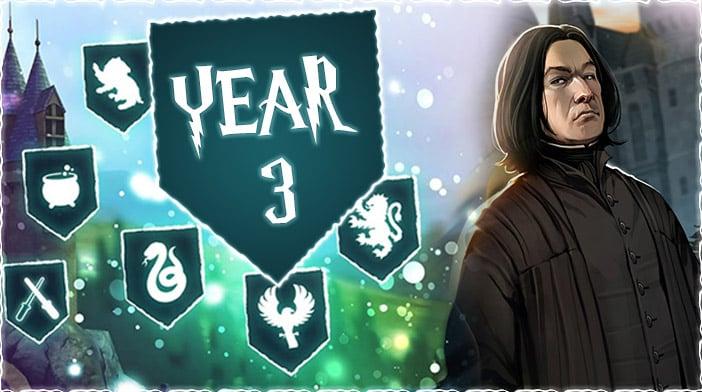 harry potter hogwarts mystery year 3