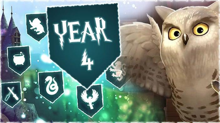 harry potter hogwarts mystery year 4