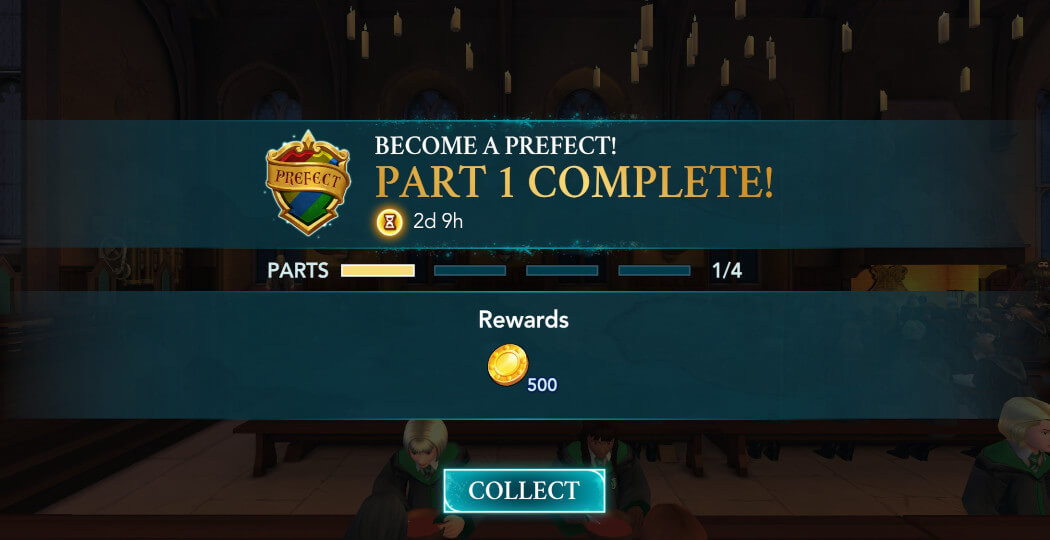 Harry Potter Hogwarts Mystery Become a Prefect Walkthrough Part 1