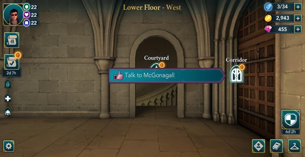 Harry Potter Hogwarts Mystery Become a Prefect Walkthrough Part 2