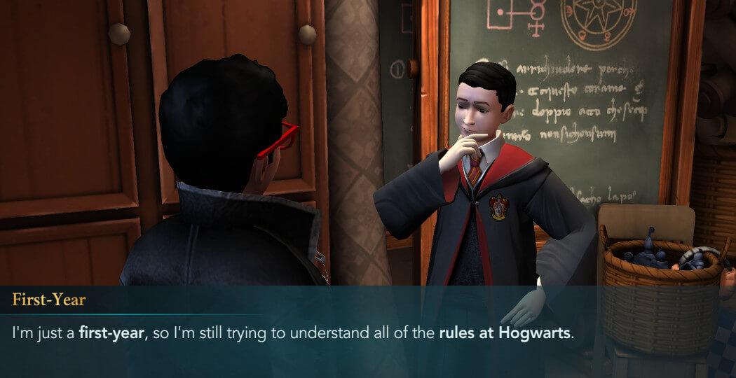 Harry Potter Hogwarts Mystery Become a Prefect Walkthrough Part 4