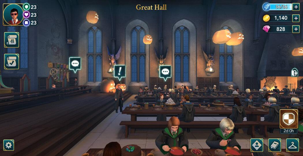 Harry Potter Hogwarts Mystery Walkthrough Year 5 Egg Hunt