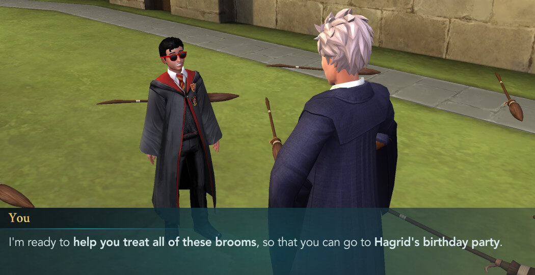 Harry Potter Hogwarts Mystery Hagrid's Birthday Walkthrough