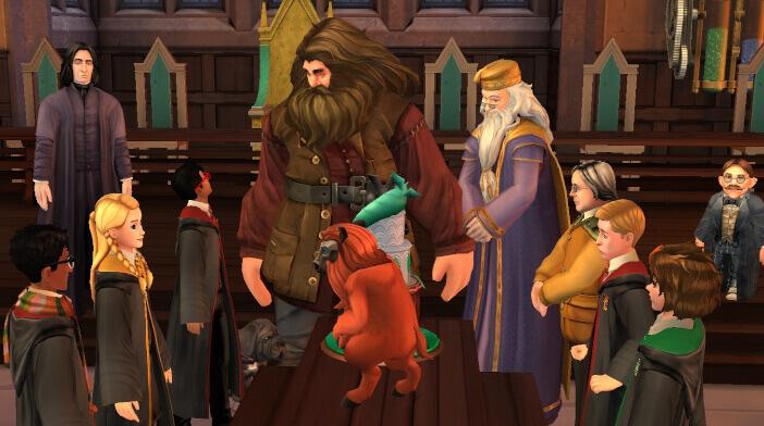 Harry Potter Hogwarts Mystery Hagrid's Birthday Walkthrough