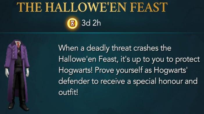 Harry Potter Hogwarts Mystery Walkthrough The Halloween Feast