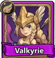 Castle Burn Legendary Units Valkyrie