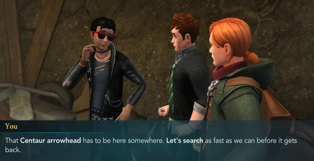 Harry Potter Hogwarts Mystery Walkthrough Year 4 Chapter 13