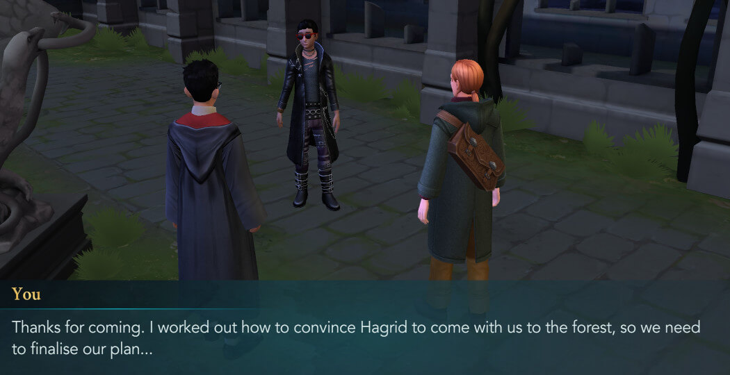 Harry Potter Hogwarts Mystery Walkthrough Year 4 Chapter 15