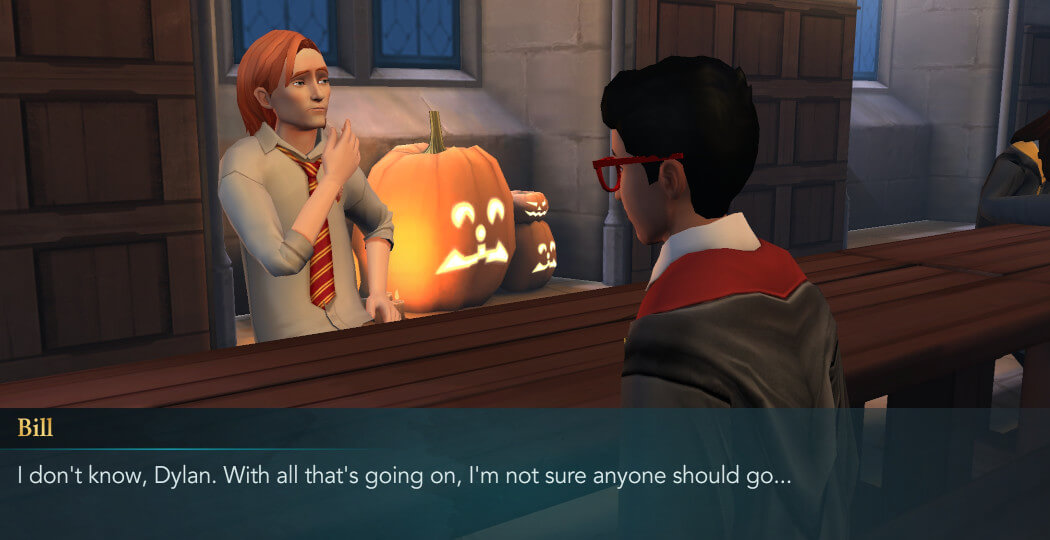Harry Potter Hogwarts Mystery Walkthrough Year 4 Chapter 16