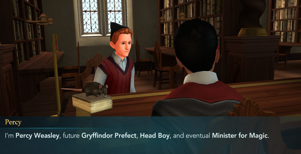 Harry Potter Hogwarts Mystery Walkthrough Year 5 Chapter 1
