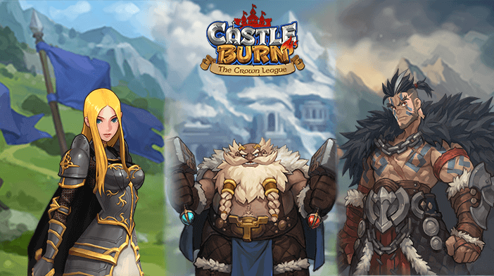Castle Burn Heroes - Jeanne, Gruvo and Osborne