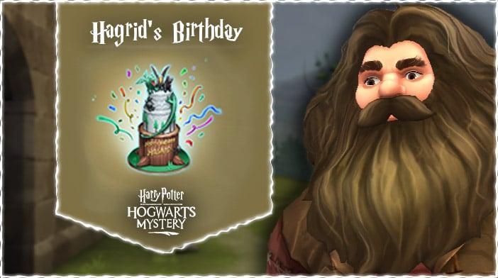 harry potter hogwarts mystery hagrid