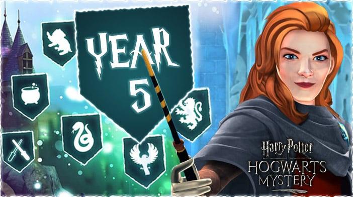 harry potter hogwarts mystery year 5