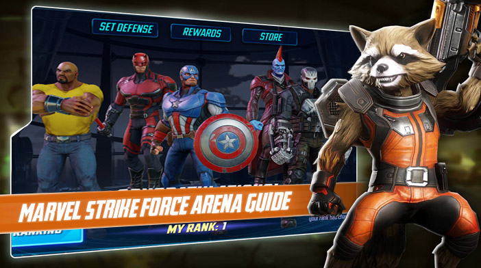 Marvel Strike Force Guide - Arena