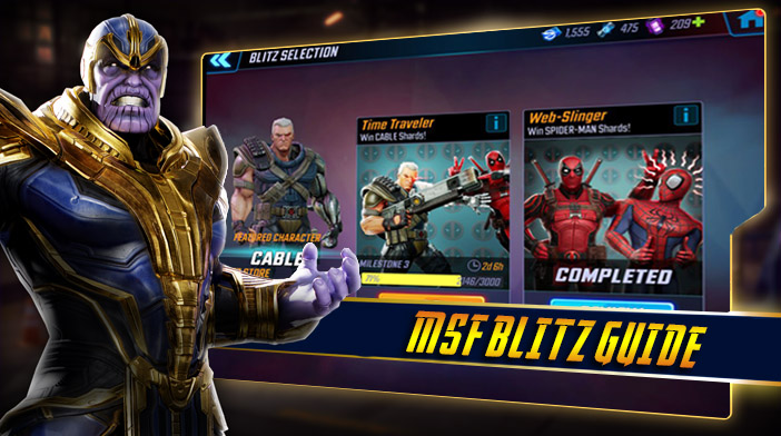 Marvel Strike Force Guide - Blitz