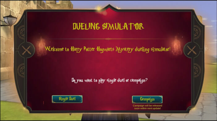 Harry Potter Hogwarts Mystery Dueling Simulator