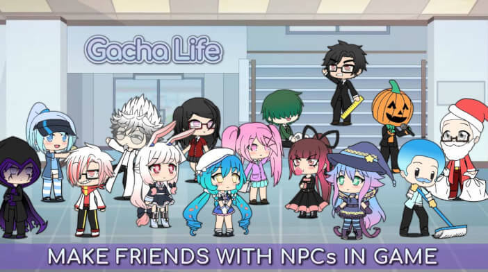 Gacha Life - Friendship With NPCs