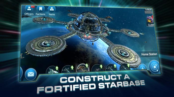 Star Trek Fleet Command Building Starbase