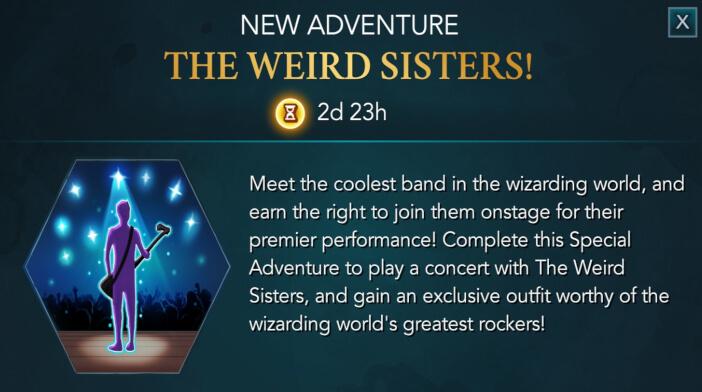 Harry Potter Hogwarts Mystery Walkthrough The Weird Sisters