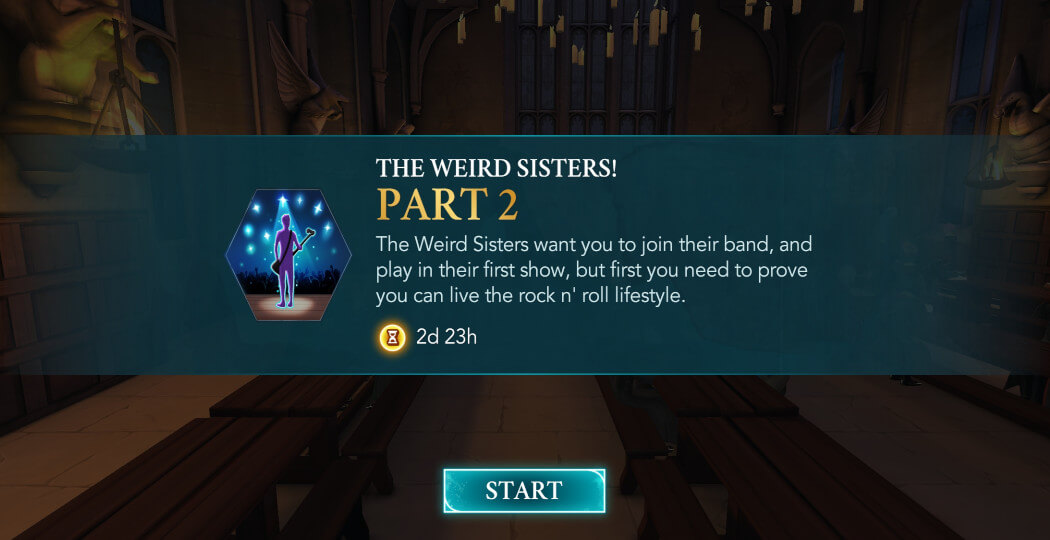 Part 2 The Weird Sisters Adventure - Harry Potter Hogwarts