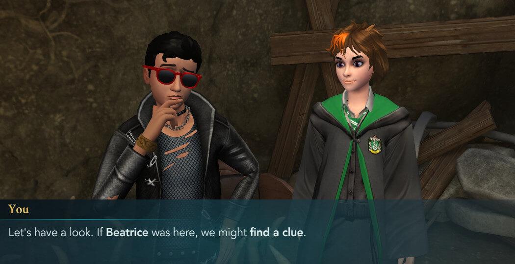 Harry Potter Hogwarts Mystery Walkthrough Year 5 Chapter 2