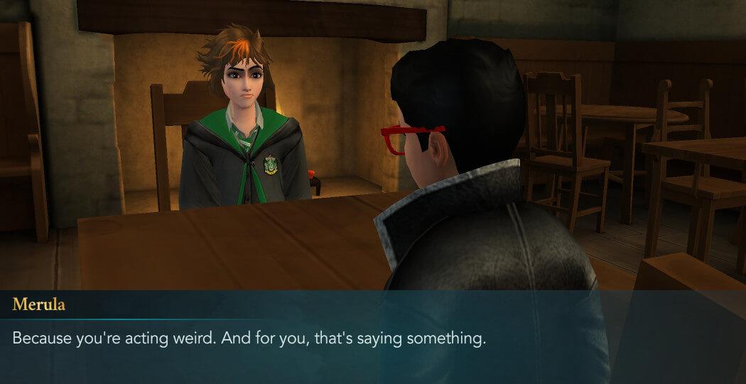 Harry Potter Hogwarts Mystery Walkthrough Year 5 Chapter 4