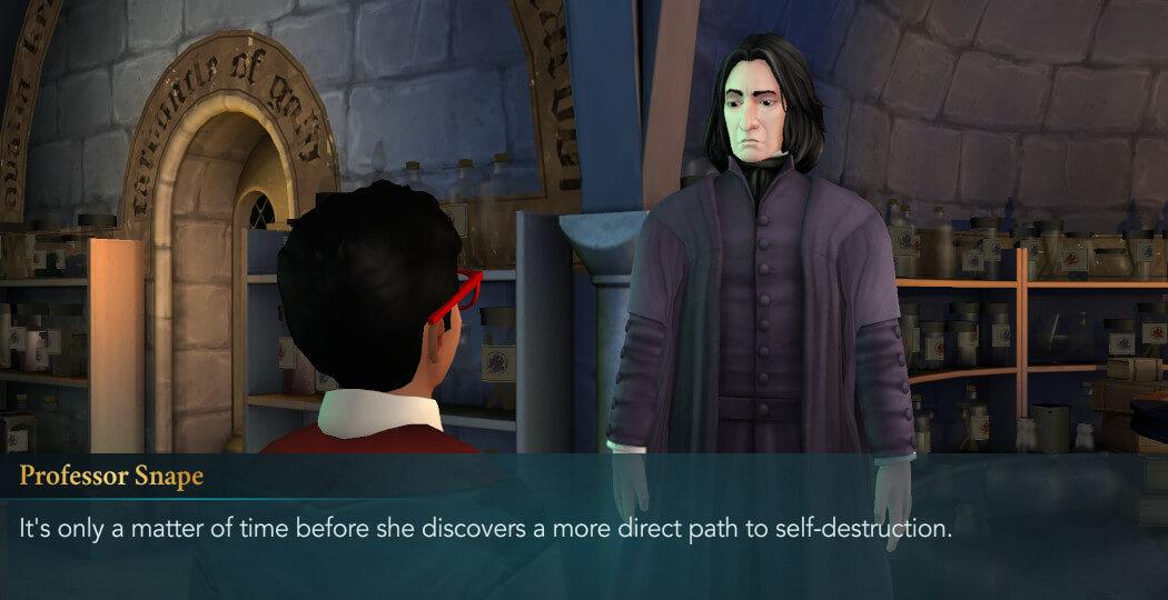 Chapter 4, Year 5 - Harry Potter Hogwarts Mystery Walkthrough