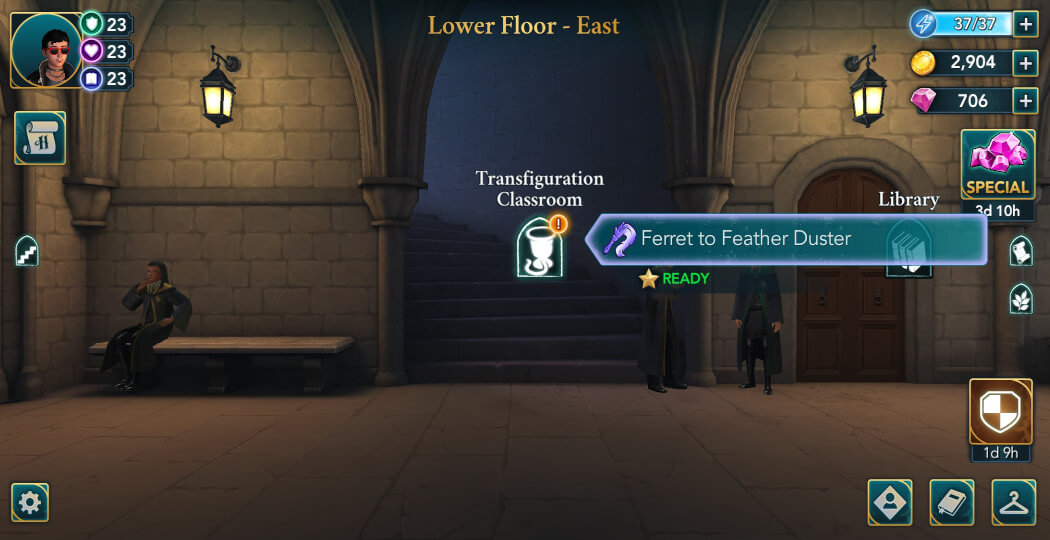 Harry Potter Hogwarts Mystery Walkthrough Year 5 Chapter 5
