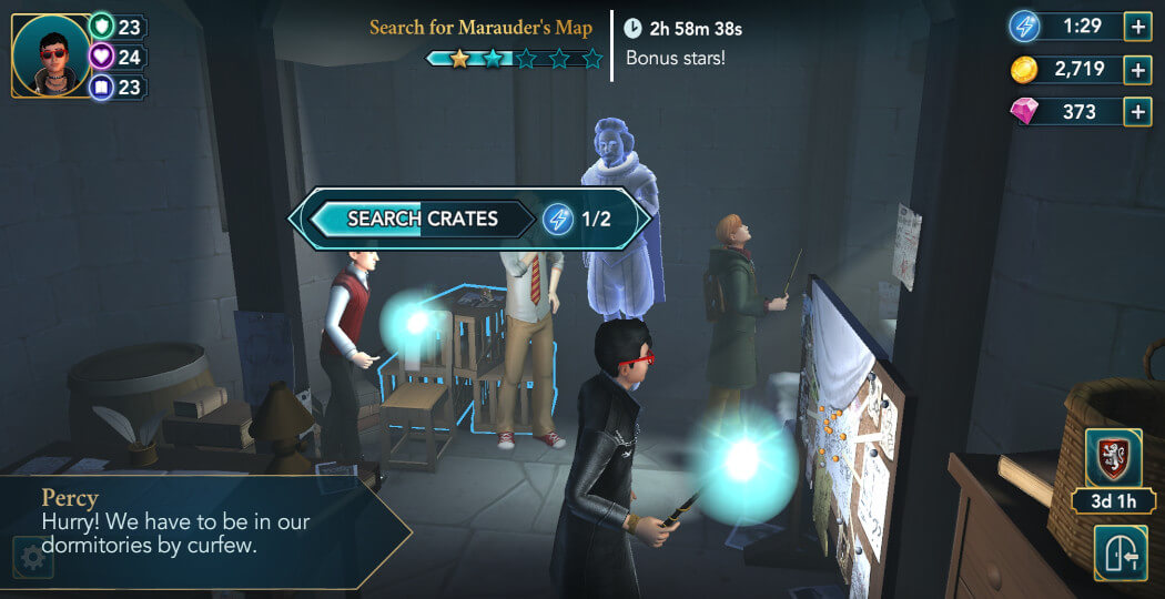 Harry Potter Hogwarts Mystery Walkthrough Year 5 Chapter 6