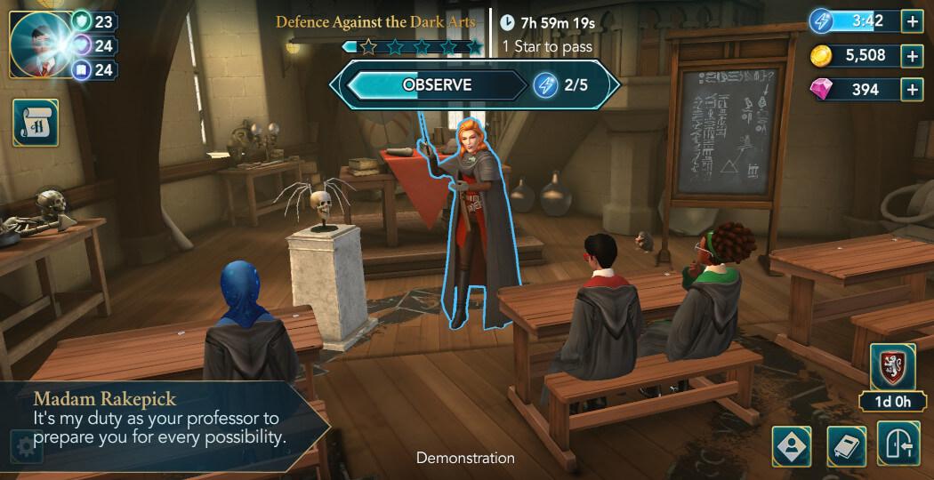Harry Potter Hogwarts Mystery Walkthrough Year 5 Chapter 7