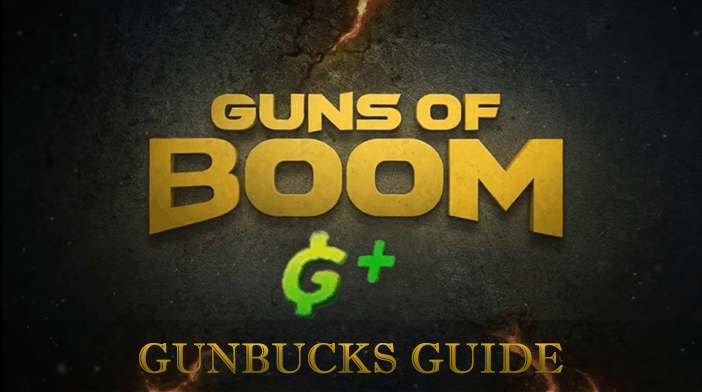 Guns of Boom Gunbucks Guide