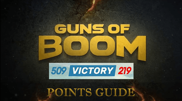 Guns of Boom Points Guide