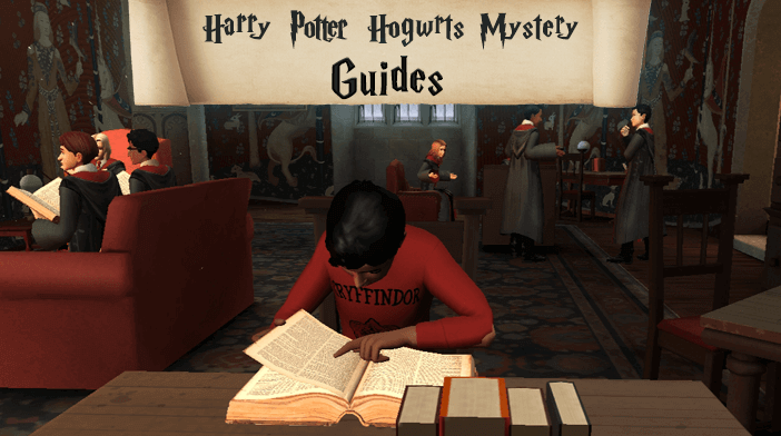 Harry Potter Hogwarts Mystery Guides