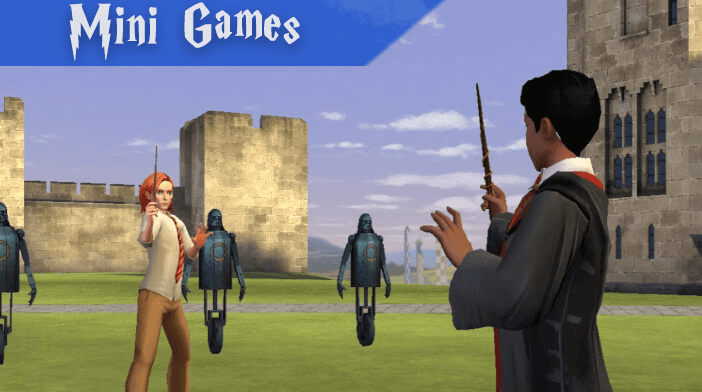 Harry Potter Hogwarts Mystery Guides Mini Games