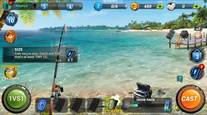 Fishing Clash Gameplay