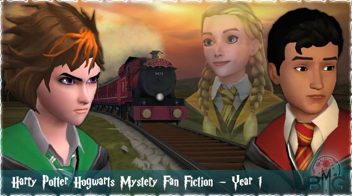 Fan Fiction - Harry Potter Hogwarts Mystery